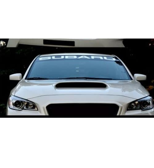 Image of Subaru Windshield Banner Decal