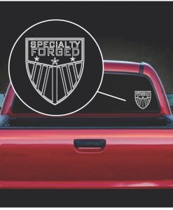 Image of Specialty Forged Decal Sticker
