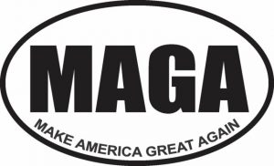 MAGA graphic decal sticker