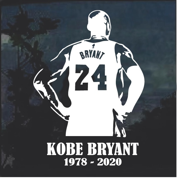 Kobe Bryant Decal Sticker