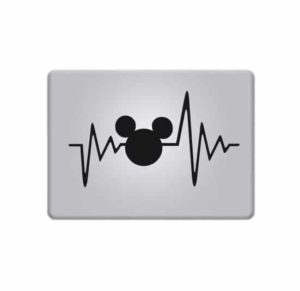 Mickey Mouse Pulse Decal Computer Sticker