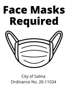 Face Masks Required in Salina Poster Image